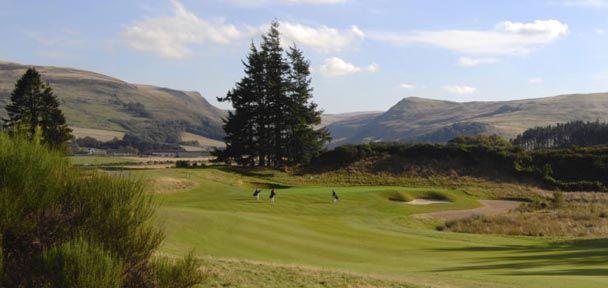 Scotland pga centenary course gleneagles
