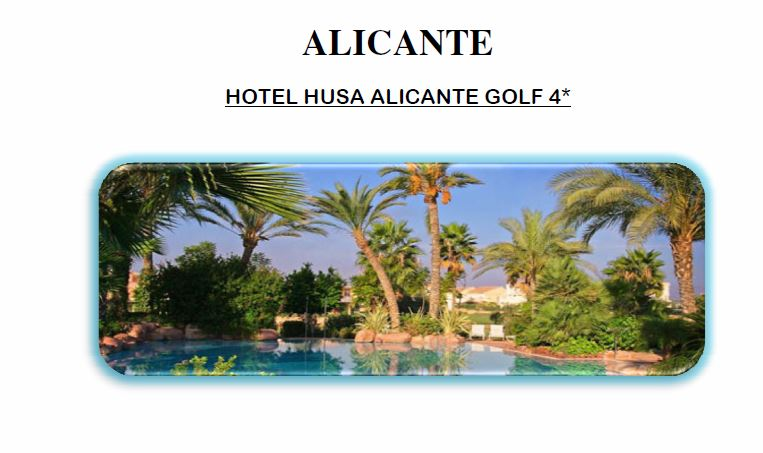 Hotel Husa Alicante Golf