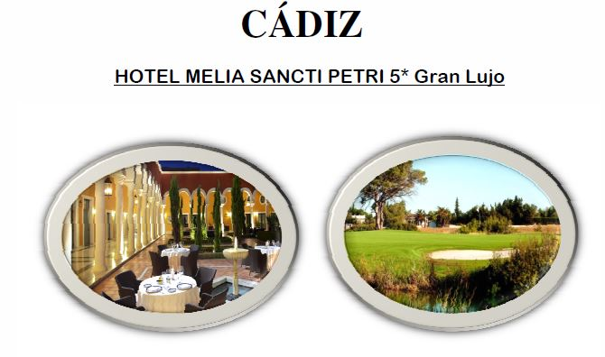 HOTEL MELIA SANCTI PETRI 5* Gran Lujo