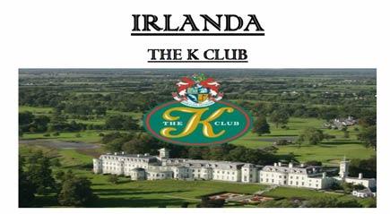 IRLANDA THE K CLUB