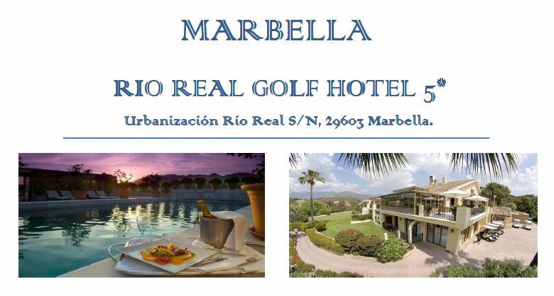RIO REAL GOLF HOTEL 5* - MARBELLA